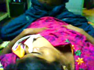 Indian chick fucked and jizzed on by horny boyfriend.