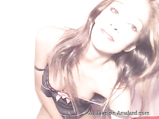 Indian webcam cutie strips and teases.