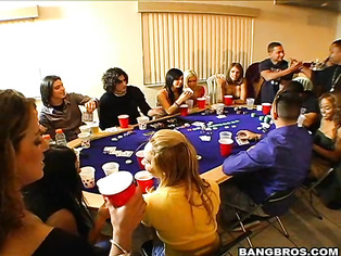 Donメt you wish every night could be poker night, especially when your poker night is infiltrated by the Bangbros crew.