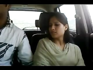 Kashmiri GF Giving Blowjob And Finger Fucked In Car.