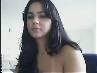 Teen Chatting With BF On Webcam.