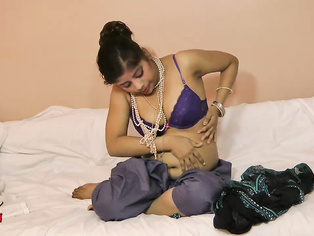 Inside her bedroom she continues her mischievous behavior by giving us a private show.