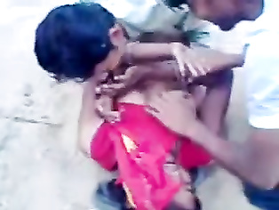 INDIAN GIRL ENJOYED BY A GROUP OF BOYS