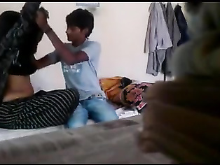 TAMIL BHABHI ENJOYING WITH TEENAGE DEVAR