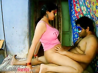 Tamil bhabhi savwith huge tits rides dick in the mask