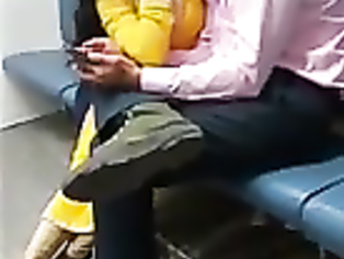 22 lovers making out in local train