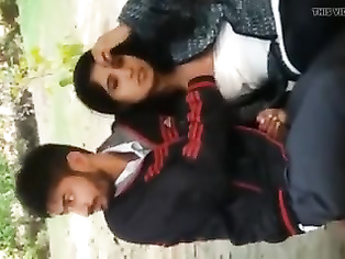 Desi couple at Park