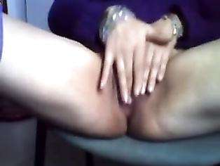 Horny Mom Rubbing Her Clit