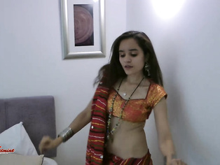Indian girls love dancing specially when they mood.