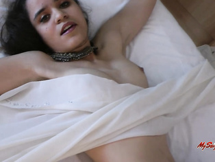 If you say yes, you will jack off to this video as Jasmine shows you all red lingerie and lace thong panties.