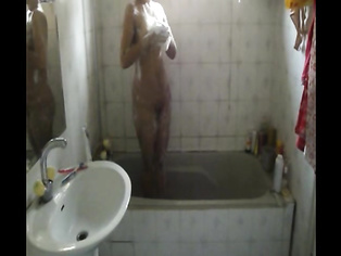 Meenal Taking Shower # 2 - Movies.