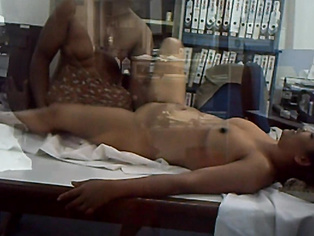 Aunty Enjoying In Office - Movies.