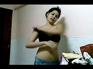 Assamese housewife stripping naked by taking off her dress bra and panty showing her big mouth watering boobies ass cheeks.