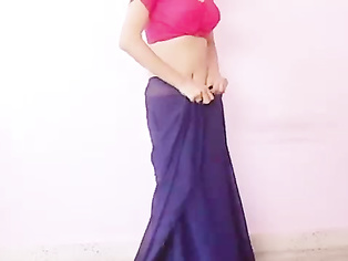 Learn How To Wear Saree - Movies. video2porn2
