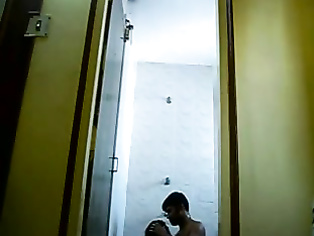 Hot Assam boro girl with her boyfriend in his apartment taking shower with him sucking his big cock and fucked in style and recorded!.