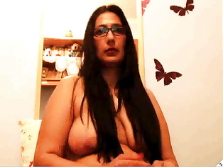 i think someone pressed her boobs many times
