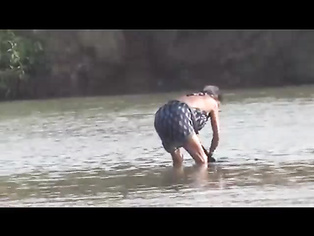 Big Boob Indian In River Bath - Movies. video2porn2