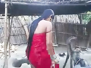 Indian Girl Open Air Shower - Movies. video2porn2