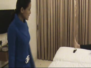 Indian wife on honeymooon trying different lingerie in front of her husband in hotel room who is filming her naked!. video2porn2