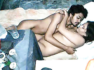 Mature indian bhabhi after shower soaking drying herself off giving her hot sexy legs a oil massage