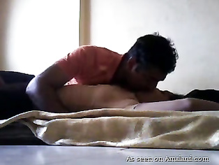 Desi GF pussy licked and fucked at home.