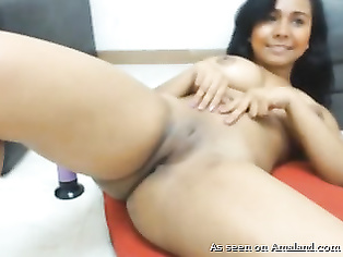 Indian Big Tit Beauty Toys Ass On Webcam.