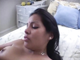I love watching a pregnant Indian washing her face while naked