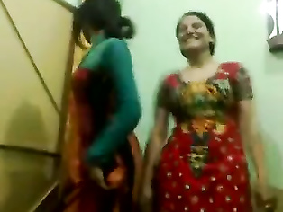Pakistani Sexy NOT aunties Enjoy Dance