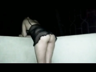 My Indian milf's outdoor doggy style