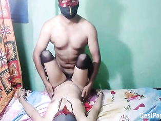 Tamil couple sex on couch