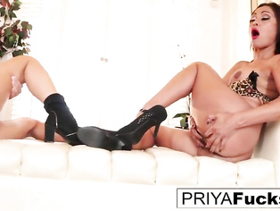 Alix and Priya turn each other on to a climax!