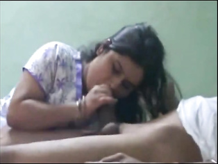 Hot Bhabhi Sucking Lover Dick